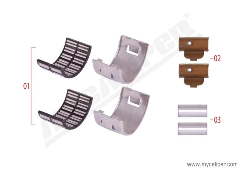 Caliper Bearing Repair Kit (Axial)