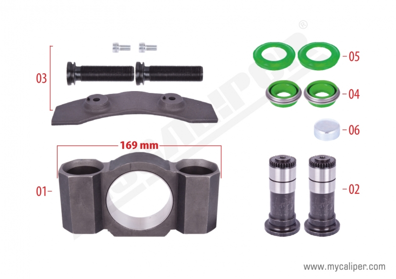 Caliper Assembly Kit (Left)