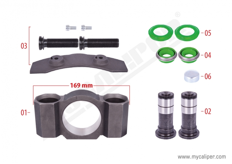 Caliper Assembly Kit (Right)