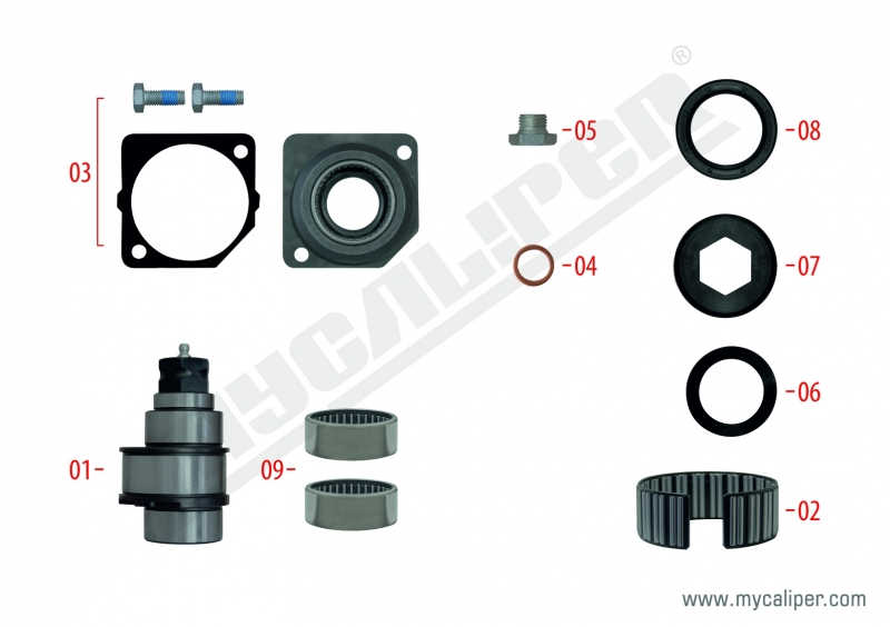 Shaft Repair Kit
