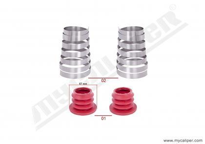 Caliper Boots & Spring Repair Kit