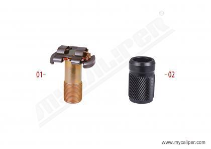 Brake Adjusting Bolt & Bush Kit (Thick Teeth - New Type)
