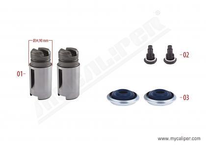 Brake Adjusting Repair Kit (Left)