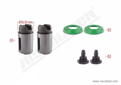 Brake Plunger Kit Left (New Model)