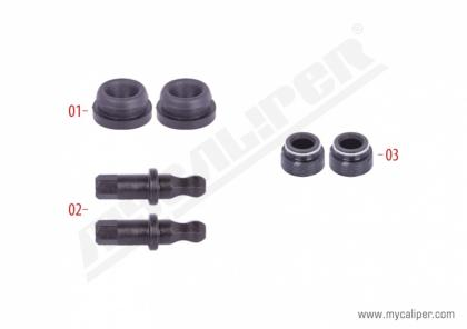 Caliper Adjuster Bolts & Seals Repair Kit