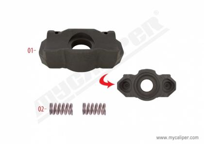 Caliper Adjusting Mechanism Support MAN TGX