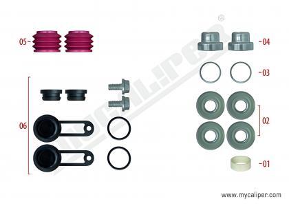 Caliper Boot & Plug Repair Kit