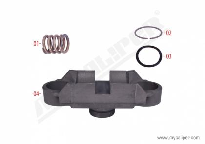 Caliper Bridge Assembly Repair Kit