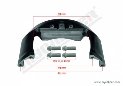 Caliper Bridge Kit (RENAULT 440 / VOLVO 460)