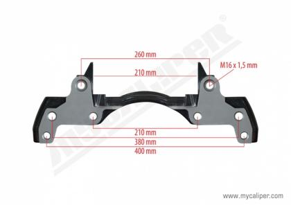 Caliper Carrier For SAF Axle ModulT