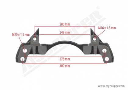 Caliper Carrier for SMB AXLE