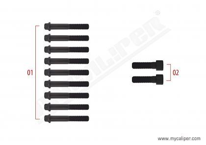 Caliper Cover Assembly Bolt Kit