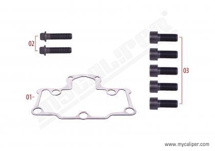 Caliper Gasket & Bolts Repair Kit