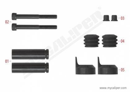 Caliper Guide Pin Repair Kit