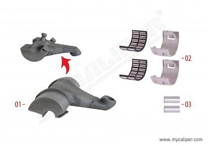 Caliper Lever Repair Kit (Length 114 mm)