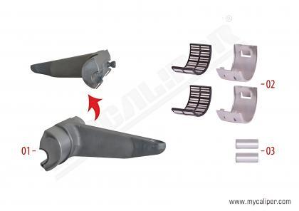 Caliper Lever Repair Kit (Radial)