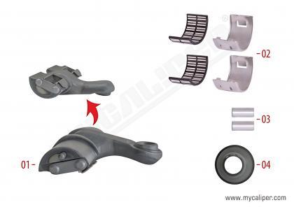 Caliper Lever Repair Kit ( Right )