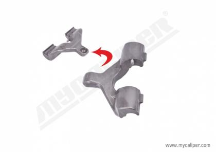 Caliper Lever (with pin)