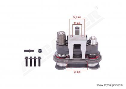 Caliper Mechanism, Piston & Cover Set
