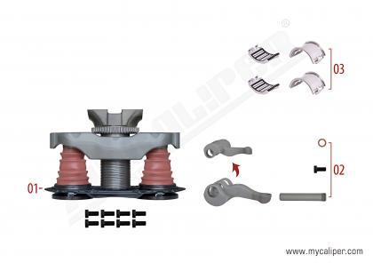 Caliper Mechanism Set