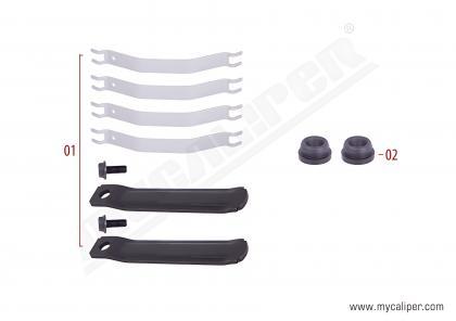 Caliper Pad Retainer Kit