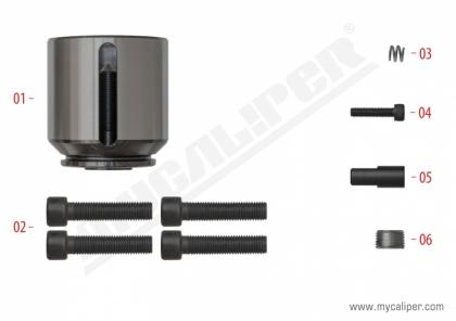 Caliper Piston Kit (Left)