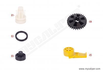 Caliper Plastic Cap Kit