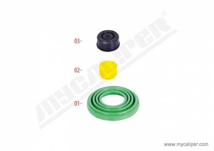 Caliper Seals Repair Kit