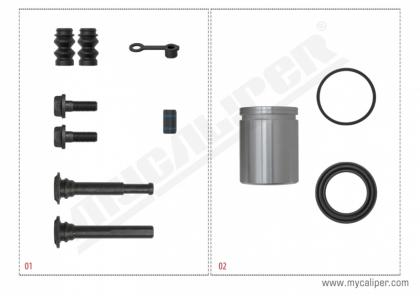 Caliper Repair Set (Bosch)