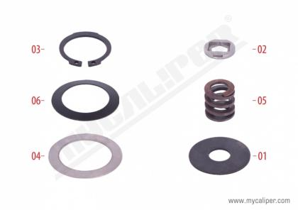 Caliper Washers & Circlips Repair Kit