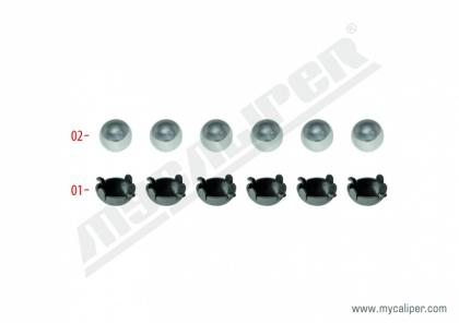Lever Bushes & Steel Ball Kit