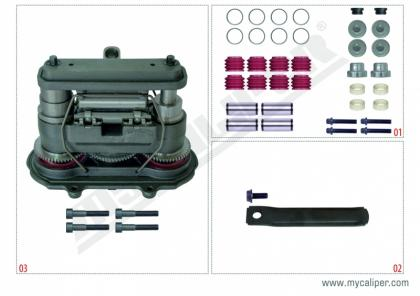 MARK IV (4) TYPE - Haldex Repair Set