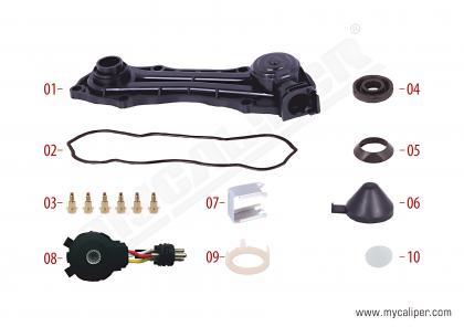 Caliper Sensor Cover (3 Cables Sensor - MAN )