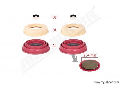 Caliper Piston Tappet & Seals Repair Kit