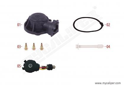Caliper Sensor Cover (3 Cables Sensor - Mercedes)