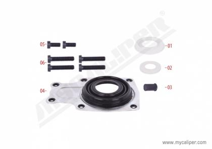 Caliper Dust Cover & Seals Repair Kit