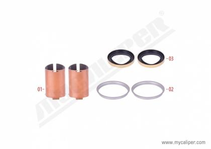 Aluminium Cover Bush & Seal Kit