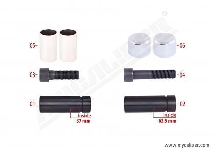 Caliper Guide & Caps Repair Kit