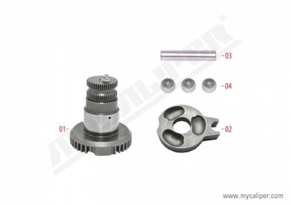Caliper Shaft Repair Kit (Left)