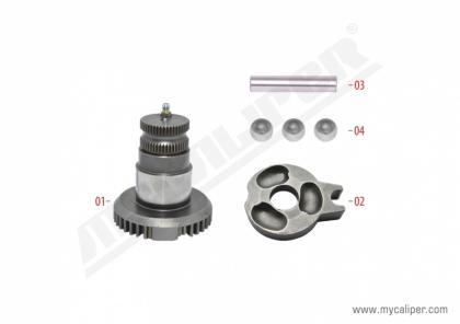 Caliper Shaft Repair Kit (Right)