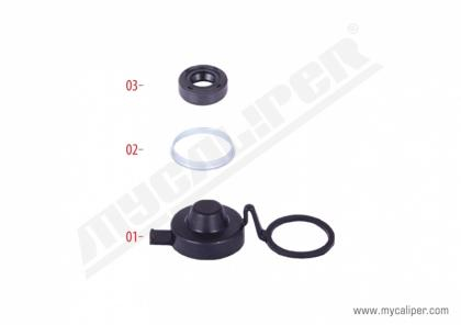 Caliper Adjuster Seal & Boot Repair Kit