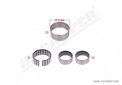 Caliper Bearing Repair Kit