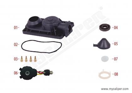 Caliper Sensor Cover (3 Cables Sensor - 12-180 MAN TGL)