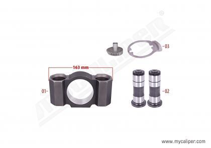 Caliper Gear & Bridge Assembly Kit (Right)