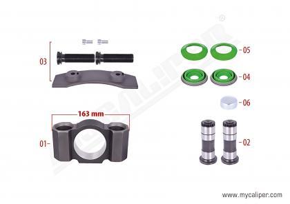 Caliper Assembly Kit (Left)