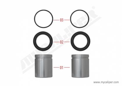 Caliper Piston & Seal Kit