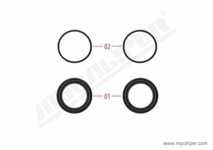Operating Seals Kit (48 mm Piston)