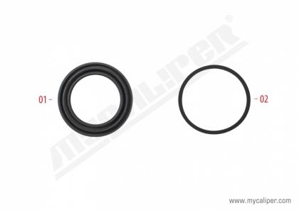 Caliper Operating Seals Kit (51 mm Piston)