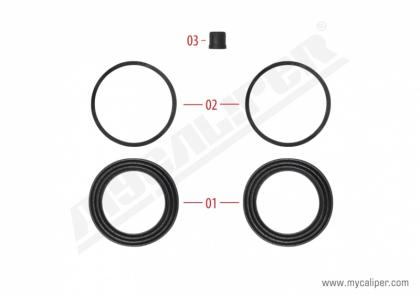 Operating Seals Kit (68 mm piston)
