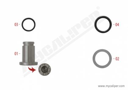 Caliper Wedge Repair Kit